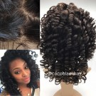 Sarah- Indian remy Afro Curl Full Lace Wig