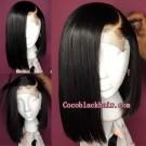 Viola-Pre plucked 13x6 wig straight bob Brazilian virgin human hair
