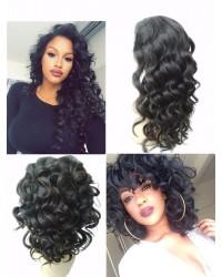 Paige-2019 new Ocean wave Brazilian virgin full lace wig