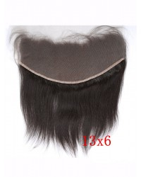 13x6 Chinese virgin silky straight lace frontal