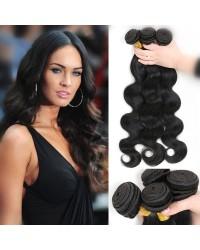 Chinese virgin 3 bundles body wave hair weaves