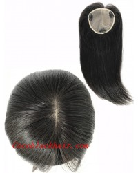 5inchesx5inches U shape silk base topper hair pieces[TP03]