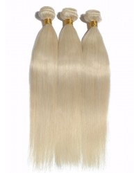 Brazilian virgin silky straight wefts color #60