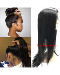 Brazilian Virgin light yaki 360 Lace Frontal