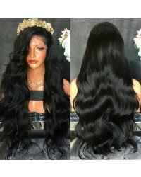 Emily11-Brazilian virgin body wave 360 frontal wig
