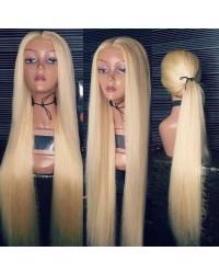 Emma-Brazilian 613 color pre plucked full lace wig