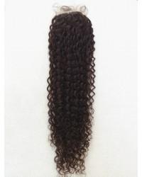 6mm curl silk base top closure