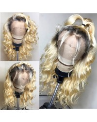 Josie-Brazilian virgin beyonce wave pre plucked full lace wig