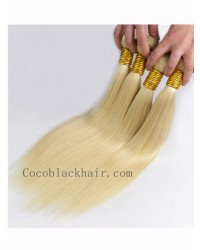 Brazilian virgin silky straight wefts color #613