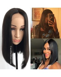 BOB01-Brazilian straight bob lace front wig