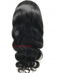 Char-Brazilian virgin body wave full lace wig