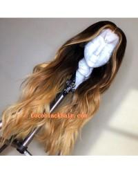 Susen-9A grade Brazilian virgin human hair pre plucked 13x6 lace front wig