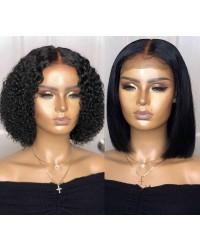 Amala-Brazilian virgin lace closure wig