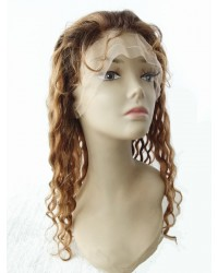 Wendy- Remy Brazilian virgin hair #3/#30 T12 highlight full lace wigs
