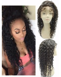 Ella- Chinese virgin Deep curl full lace wig