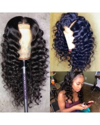 Emily33-Brazilian virgin natural wave 360 frontal wig
