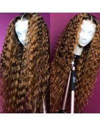 Emily50-Pre plucked Brazailian virgin exquisite curl 360 wig