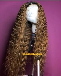 Emily50-Pre plucked Brazilian virgin exquisite curl 360 wig