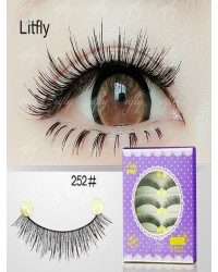 5 pairs Pure manual false eyelashes-#252