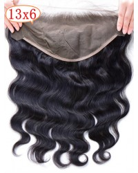 13x6 Brazilian virgin body wave lace frontal