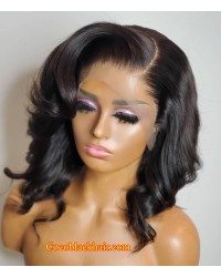 Danny-Brazilian virgin loose wave full lace wig pre plucked