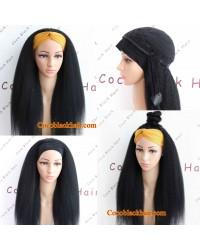 Rudy-Headband wigs Brazilian virgin human hair