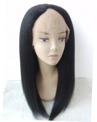 Julia- Kinky straight U Shaped wig