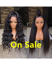 【NEVER AGAIN】Coco-50% Off Sale full lace wig Brazilian virgin human hair