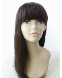 Rachel- Brazilian virgin Glueless full lace wig with Chinese bangs