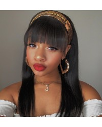 Rachel-Brazilian virgin full lace wig with Chinese bangs