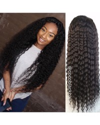Lena- Burmese virgin hair 8mm curly silk top full lace wig