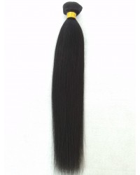 Yaki Straight Virgin Hair bundle wefts
