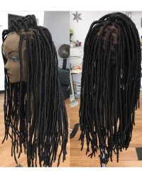 Loc wig- Brazilian virgin full lace wig