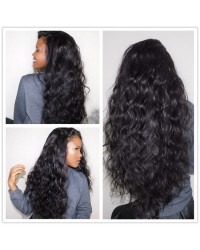 Emily15-Brazilian virgin loose deep curly 360 frontal wig