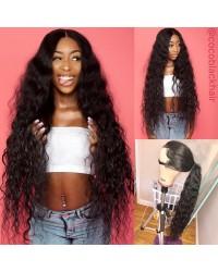 Emily15-Brazilian virgin loose deep curly 360 frontal wig
