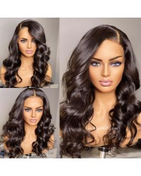 Angela 04-5x5 HD lace closure wig Loose Wave Brazilian virgin human hair