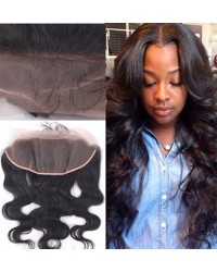 Malaysian virgin body wave lace frontal