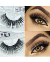 3D MINK FALSE EYELASHES #Mink003