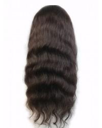 Jean- Malaysian virgin natural wave full lace wig