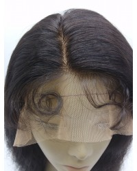 San-Indian remy natural wave full lace wig