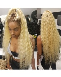 Nalu-Brazilian virgin curly Ombre full Lace wig