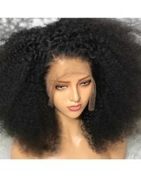 Emily66-Pre plucked Brazilian virgin tight full curly 360 wig