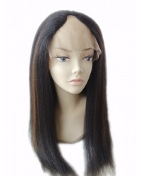 Kaila- Italian yaki U shaped Highlight wig