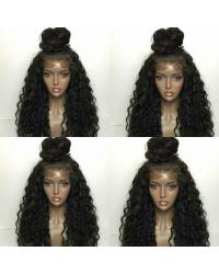 Bongo- Brazilian virgin water wave full lace wig