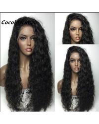 Joyce- Brazilian virgin wet wave full lace wig