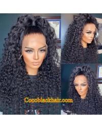 Nova 11-Water wave 13x6 wig glueless lace front Pre plucked hairline Brazilian virgin human hair