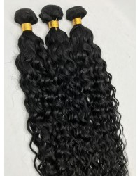 Brazilian virgin 3 bundles water wave machine wefts