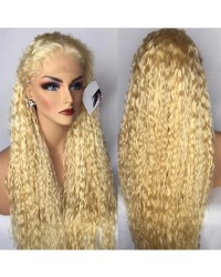 Emily25- Brazilian virgin wet wave 360 lace frontal wig #613 color