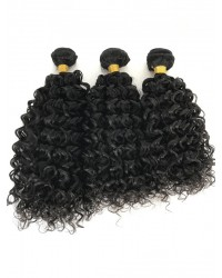 Brazilian virgin 3 bundles wet wave machine wefts