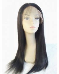 Nora-Yaki straight glueless lace front wig